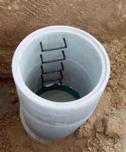 Betonové skruže na studnu
